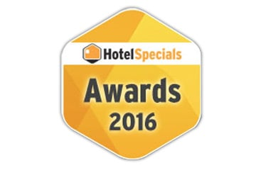 """Award """"Meest klantvriendelijke hotel van België"""""""